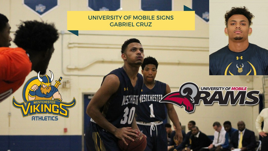 University Of Mobile >> University Of Mobile Men S Basketball Signs Westchester S